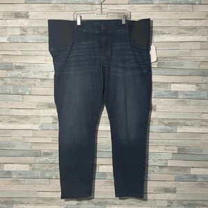 Isabel Maternirty Jeans Size 18 Mid-Rise Skinny